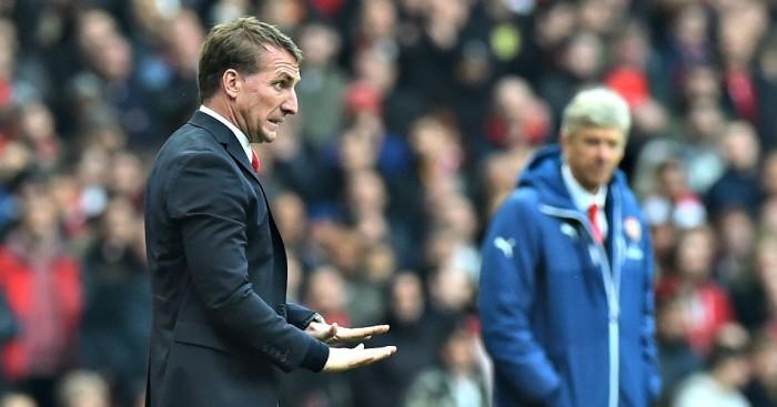 Brendan Rodgers: Has sympathy of Arsene Wenger