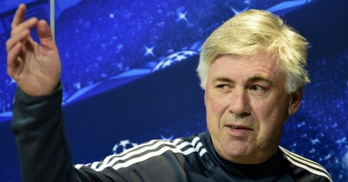 Carlo Ancelotti: Has been linked with the vacant managerial post at Liverpool