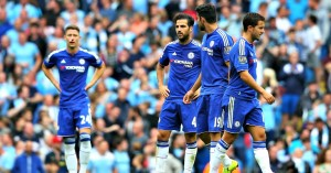 Chelsea: 10 points off pace being set by Manchester City
