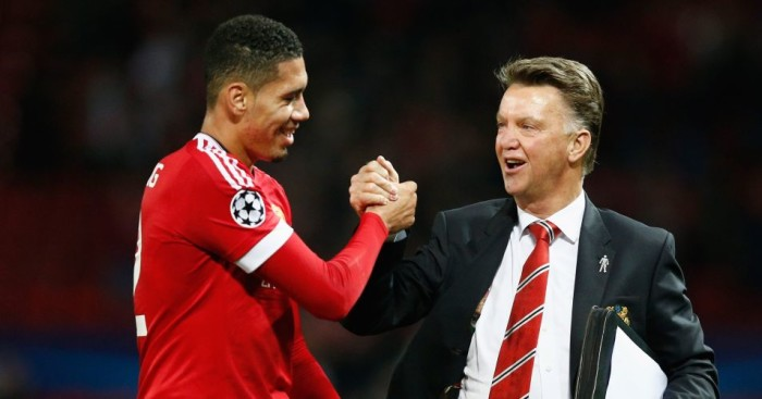 Louis van Gaal: Has trouble remembering Smalling's first name