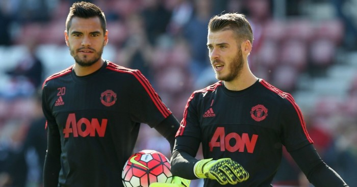 David De Gea Sergio Romero Manchester United TEAMtalk