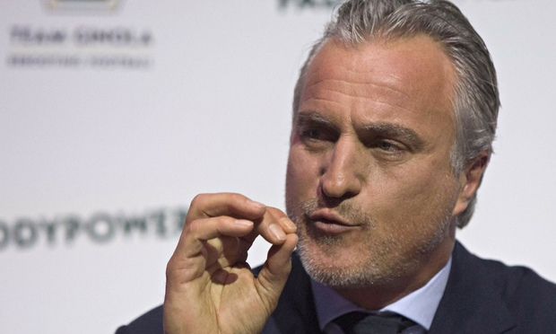 David Ginola: Recovering