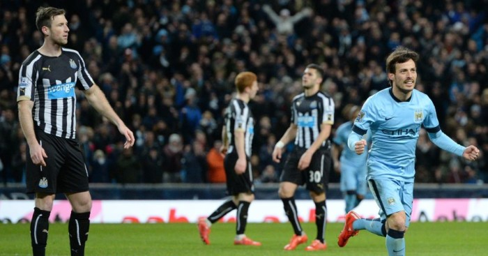 David Silva: Manchester City star has good record against Newcastle