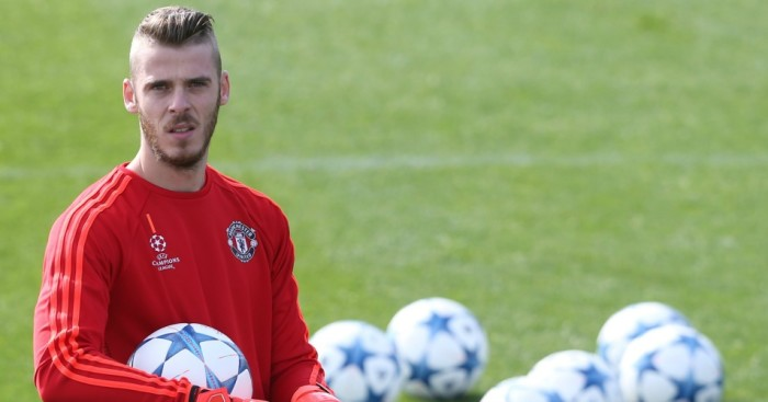David de Gea: Manchester United goalkeeper was wanted by Real Madrid