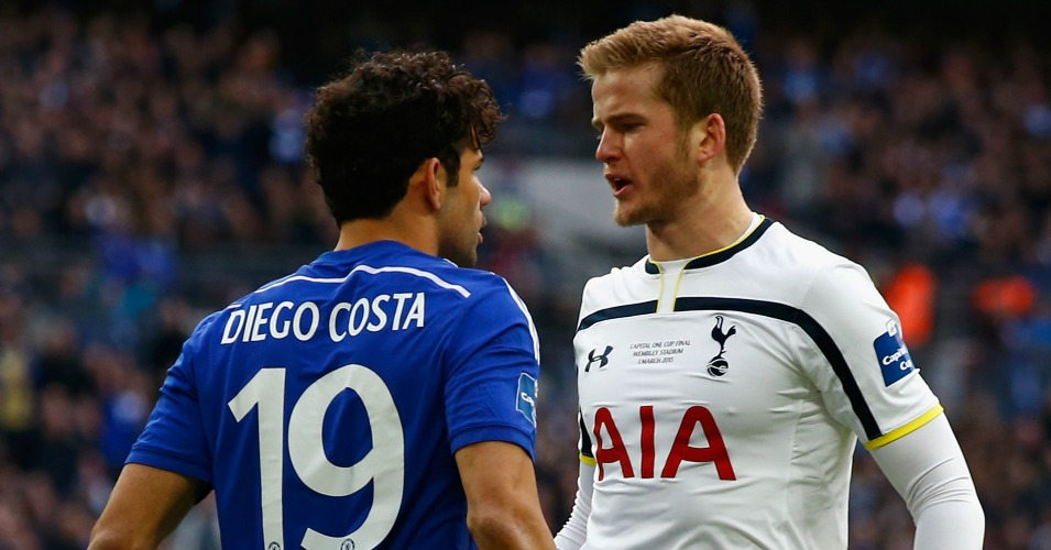 Eric Dier: Confronts Diego Costa in last season's League Cup final