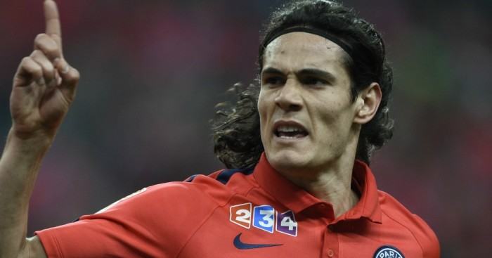 Edinson Cavani: Linked with move to Chelsea