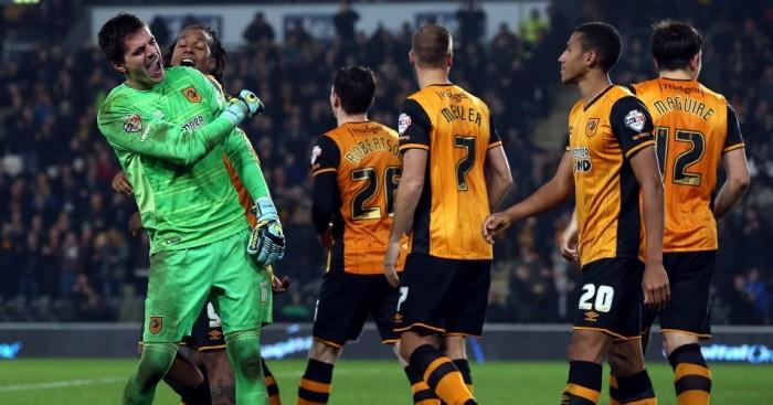 Eldin Jakupovic: Shootout hero for Hull City against Leicester