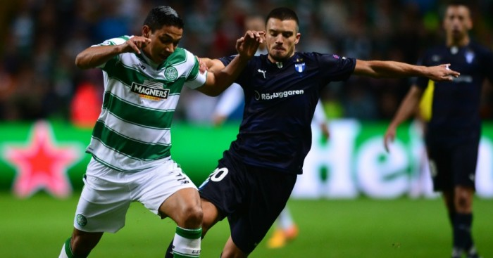 Izaguirre: Defender required stitches after tussle