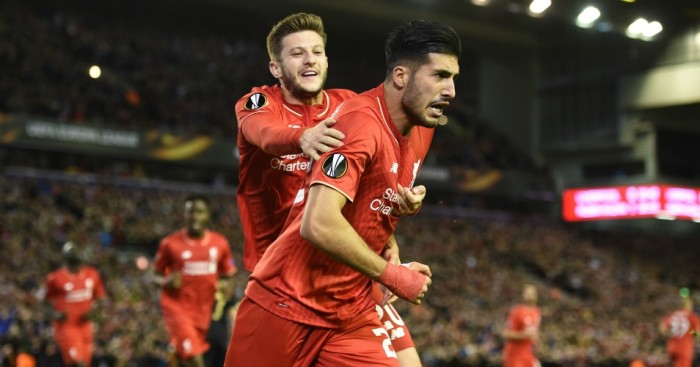 Emre Can: Thanked Jurgen Klopp for playing him in midfield