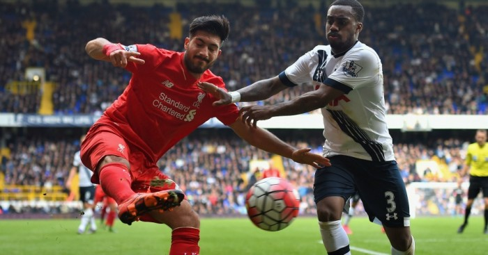 Emre Can Danny Rose Tottenham v Liverpool TEAMtalk