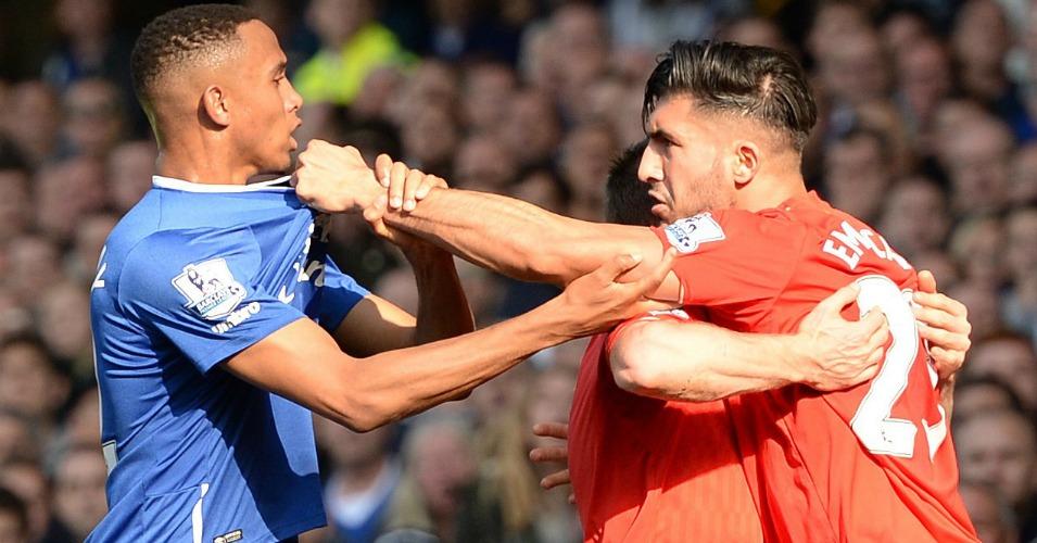 Emre Can Everton v Liverpool TEAMtalk