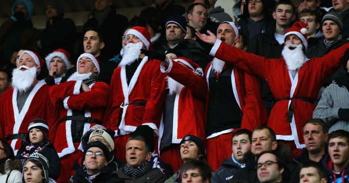 Football fans: Get in the spirit for festive fixtures