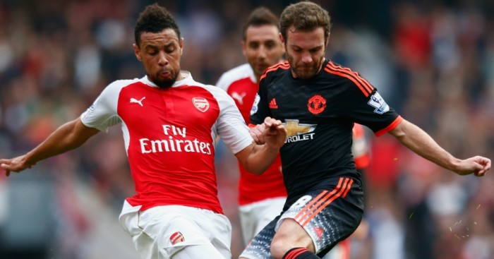 Arsenal: Hoping to pick up where they left off against Manchester United