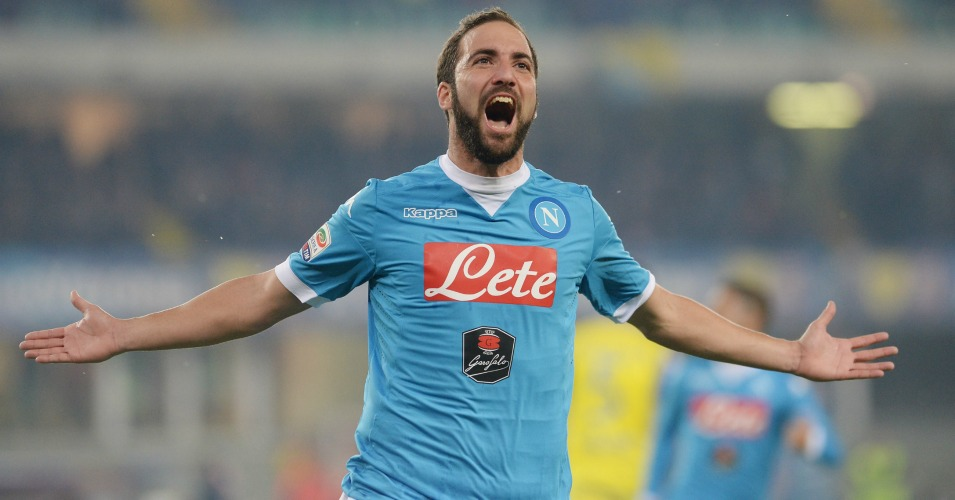 Gonzalo Higuain: Napoli striker linked with Manchester United