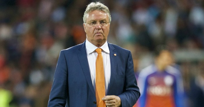 Guus Hiddink: Dutchman appointed