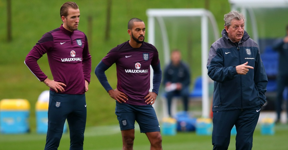 Roy Hodgson: Will likely choose between Harry Kane and Theo Walcott