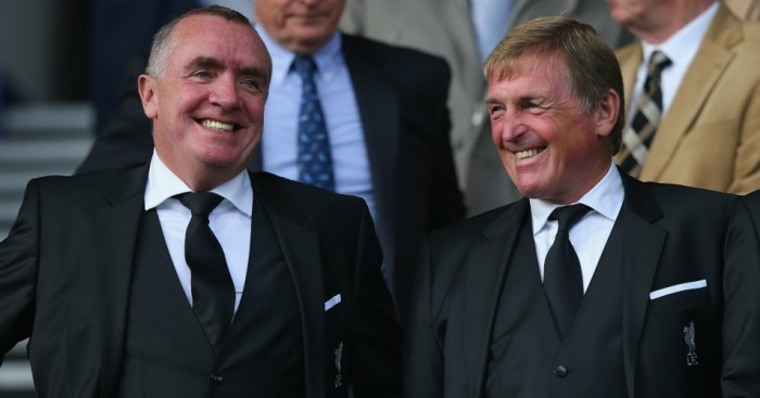 Kenny Dalglish (r): Happy with Jurgen Klopp's appointment at Liverpool