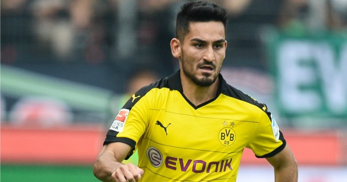 lkay Gundogan: Borussia Dortmund star linked with Manchester City