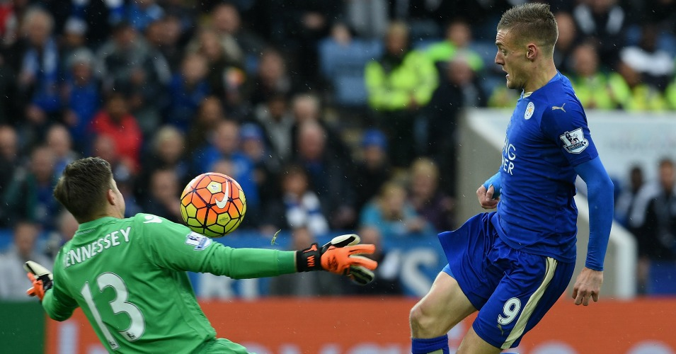 Jamie Vardy: Scores Leicester's winner against Palace