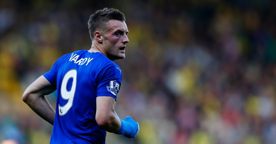 Jamie Vardy: Leicester City striker in great form