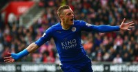 Jamie Vardy: Has scored in nine straight Premier League games for Leicester City