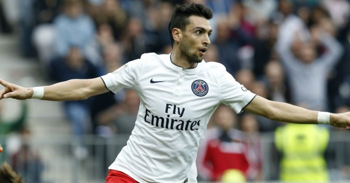 Javier Pastore: Linked with move to Chelsea
