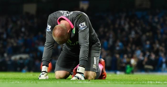 John Ruddy: Goalkeeper's mistake lead to Man City's winner