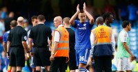 John Terry: Defender out of contract at Chelsea in the summer