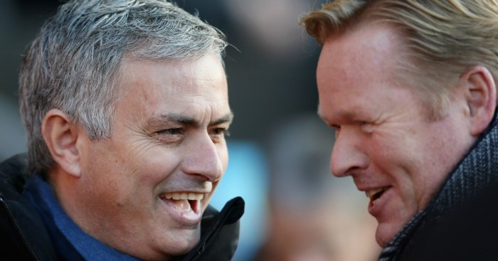 Ronald Koeman: Urges Chelsea boss Jose Mourinho to be more attack-minded