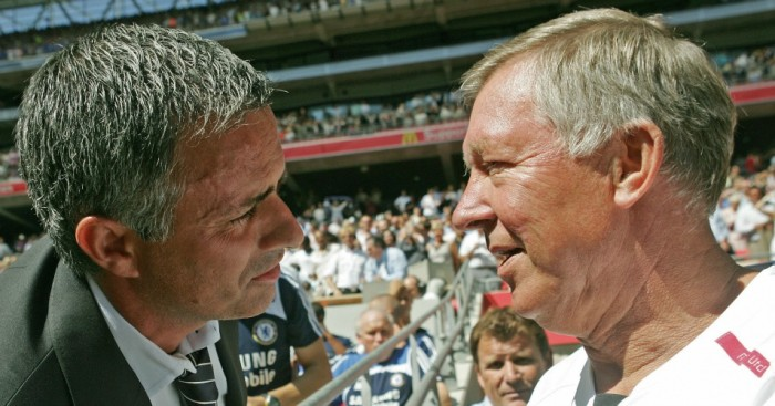 Jose Mourinho: Tipped to succeed by Ferguson
