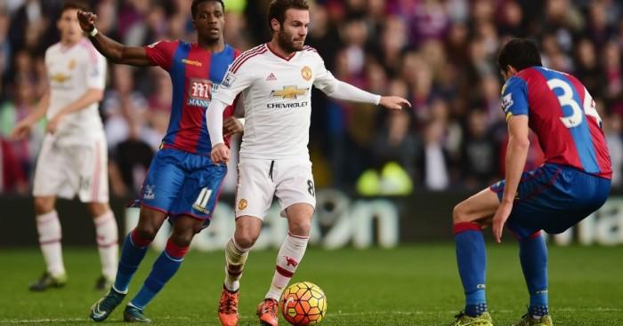 Juan Mata Crystal Palace v Manchester United TEAMtalk