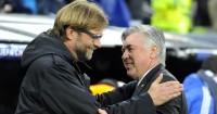 Carlo Ancelotti (r): No Liverpool approach