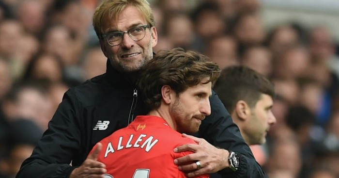 Joe Allen: Called 'average' and a 'waste of money'
