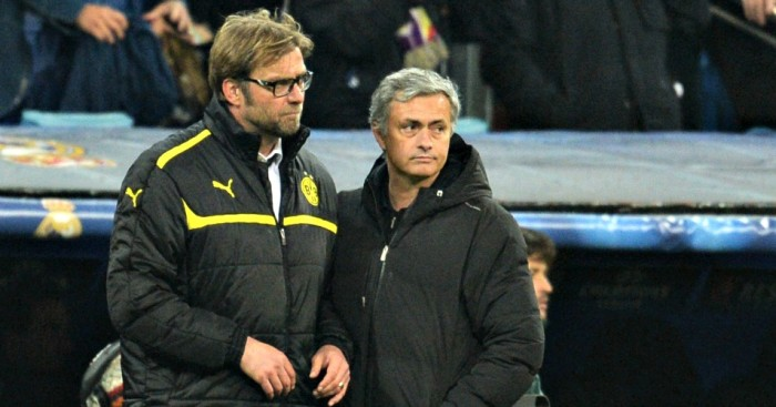 Jurgen Klopp and Jose Mourinho: Opposite ends of Premier League Sack Race