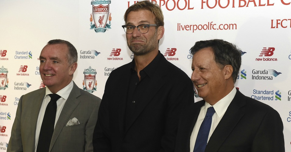 Jurgen Klopp (c): Unveiled this week
