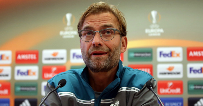 Jurgen Klopp: Knows the EL will be tough to win
