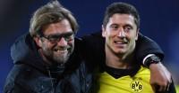 Jurgen Klopp: Praised by his former striker Robert Lewandowski