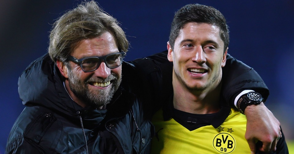 Jurgen Klopp: Praised by his former striker Robert Lewandowski