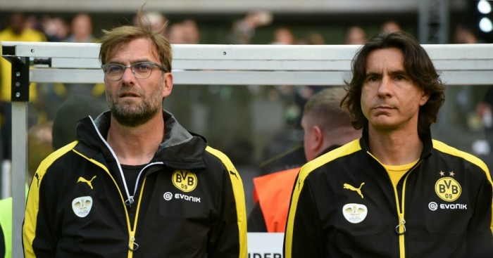 Zeljko Buvac (right): Expected to join Jurgen Klopp at Liverpool