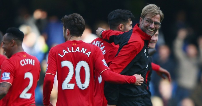 Jurgen Klopp: Manager delighted with victory at Chelsea