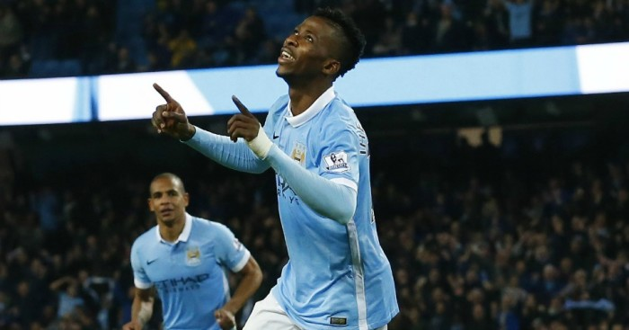 Kelechi Iheancho: Enjoys his strike for Manchester City
