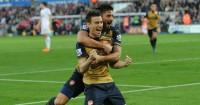 Laurent Koscielny: Defender celebrates Arsenal's second