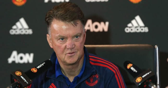 Louis van Gaal: Walked out on his press conference