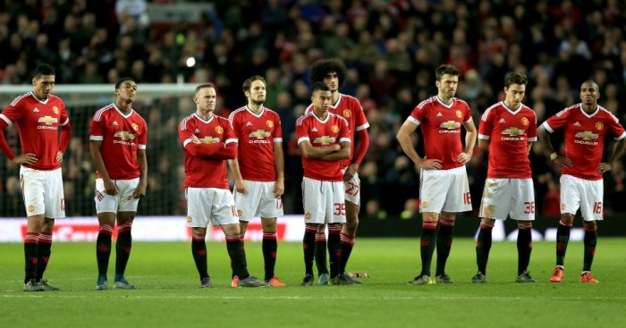 Manchester United: Struggling to get shots off in Premier League