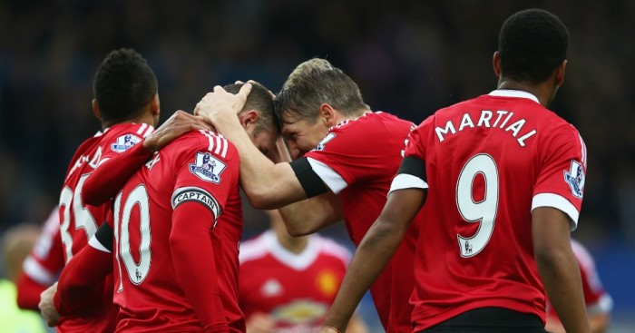 Manchester United: Claimed 3-0 win at Everton on Saturday