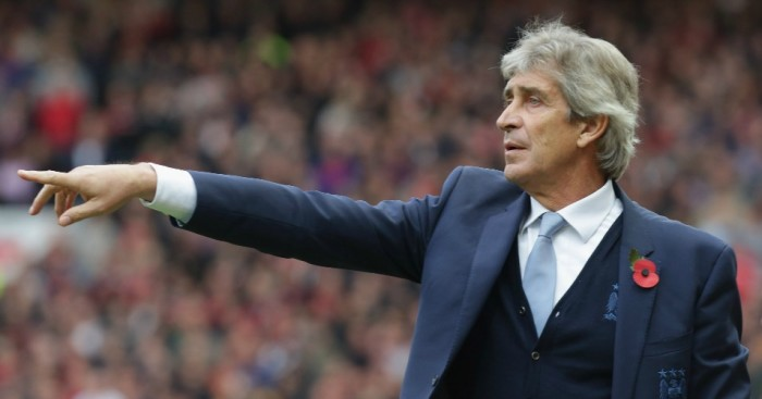 Manuel Pellegrini: Manchester City boss happy with point at United