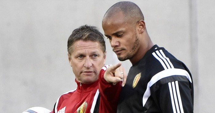 Vincent Kompany: Could play for Belgium