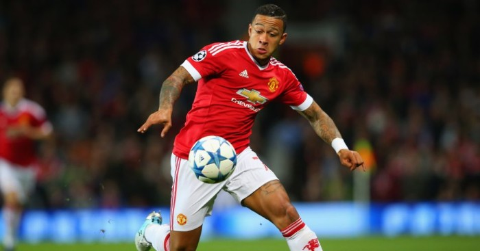 Memphis Depay: Dropped to the Manchester United bench on Saturday