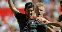 Nolito (left): Celta Vigo forward linked with Arsenal