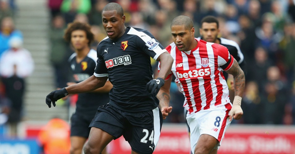 Odion Ighalo: Tracked by Glen Johnson